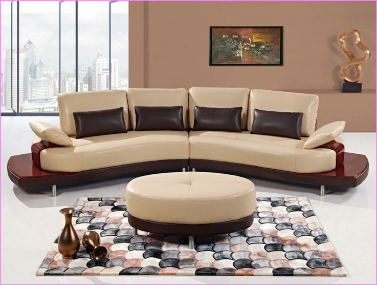 Sofa Beds Design: Extraordinary Modern Semi Circular Sectional In For Semicircular Sofas (Photo 4 of 13)
