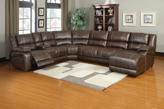 Sofa Beds Design: Incredible Traditional Power Reclining Sectional Pertaining To Sectional Sofas With Power Recliners (View 5 of 10)