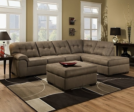 Sofa Beds Design: Latest Trend Of Traditional Simmons Sectional Inside Simmons Sectional Sofas (Image 9 of 10)