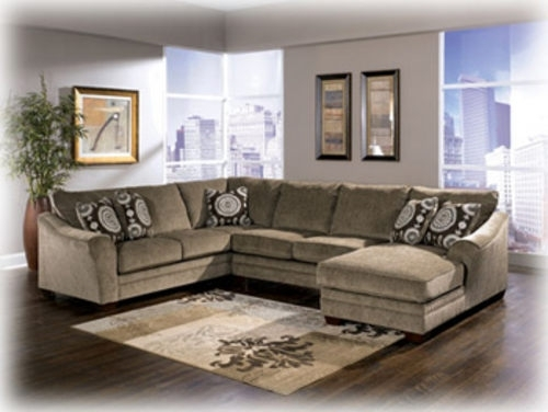 Sofa Beds Design: Marvellous Contemporary Ashley Furniture Sectional Inside Sectional Sofas At Ashley (Image 10 of 10)