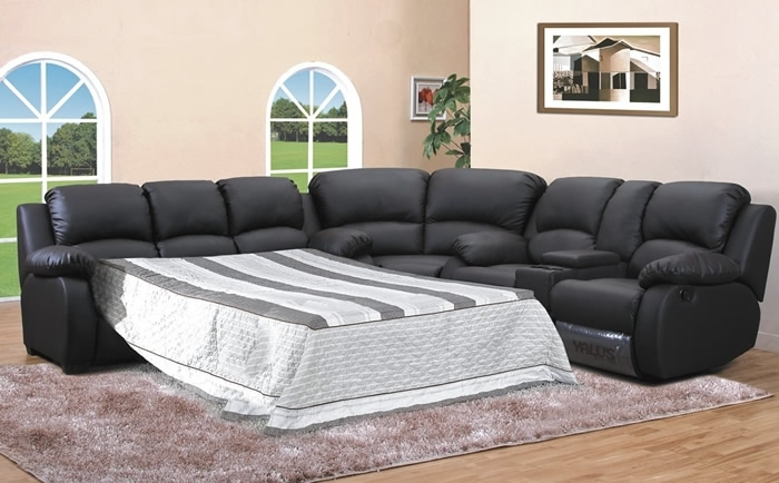 Sofa Beds Design: Remarkable Traditional Sectional Sofas With Inside Pull Out Beds Sectional Sofas (Image 8 of 10)
