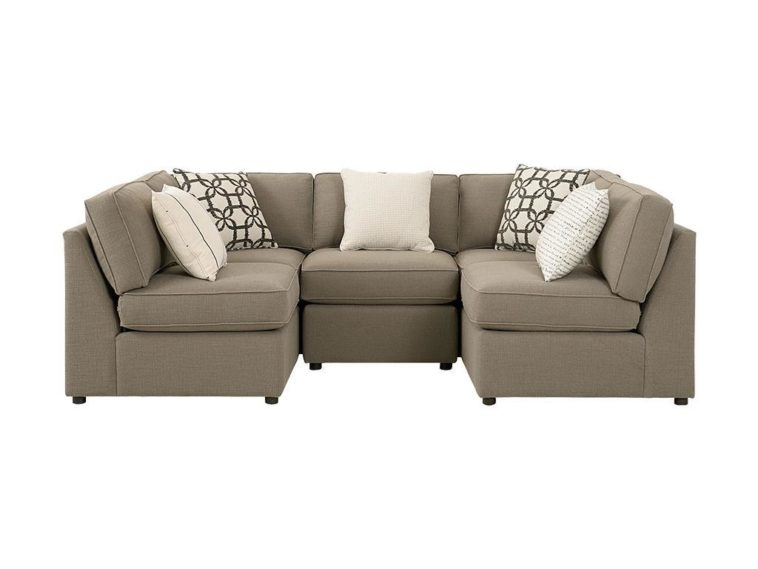 Sofa Beds Design: Stunning Ancient Small U Shaped Sectional Sofa Regarding Small U Shaped Sectional Sofas (Image 8 of 10)