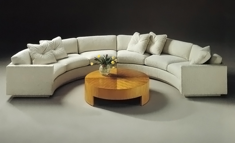 Sofa Beds Design: Terrific Ancient Semi Circular Sofas Sectionals Throughout Semicircular Sofas (Image 12 of 13)