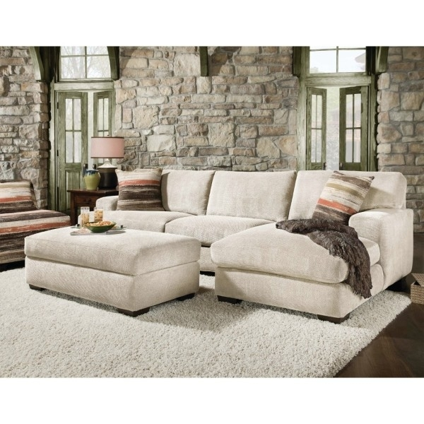 Sofa Beds Design: The Most Popular Contemporary Sectional Sofa With Inside Sectionals With Chaise And Ottoman (View 10 of 10)