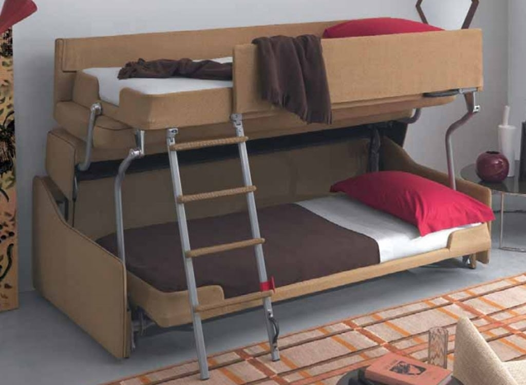 Sofa Bunk Bed | Sofa Bunk Bed Convertible – Youtube With Regard To Sofa Bunk Beds (View 6 of 10)