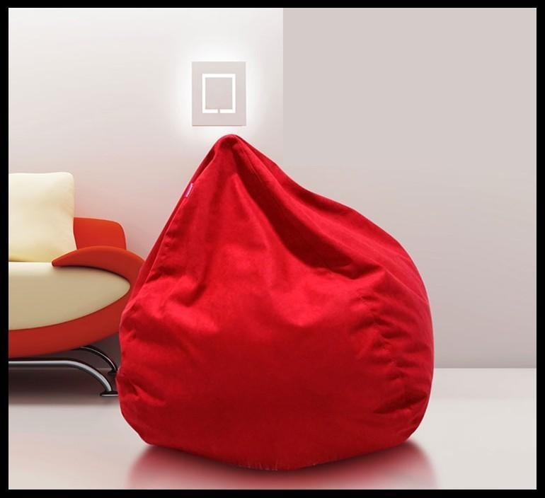 Sofa Chair Flocking Inflatable Sofa Bed Living Room Furniture Inside Lazy Sofa Chairs (Image 9 of 10)