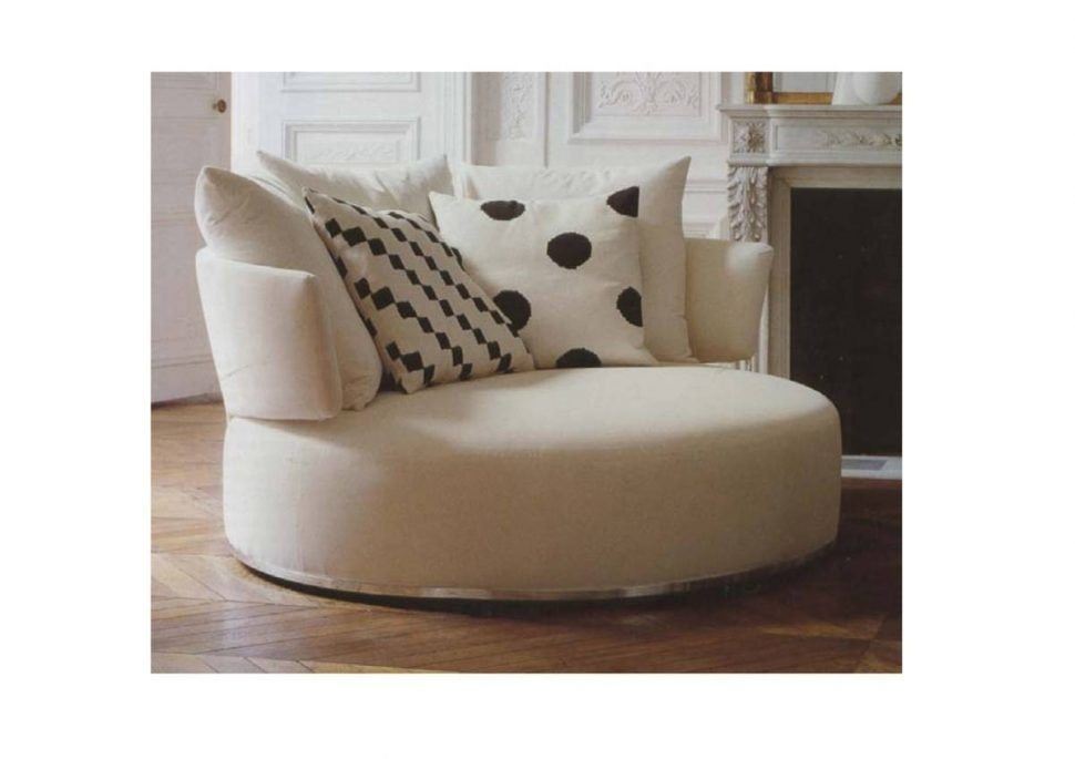 Sofa : Endearing Round Sofa Chair Round Sofa Chair Round Sofa Chair Inside Big Round Sofa Chairs (Image 9 of 10)