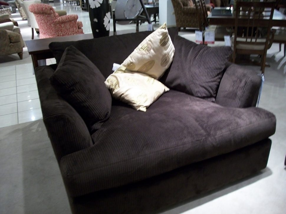 Sofa : Extra Wide Recliningofa Unbelievable Images Concept Modern Inside Wide Sofa Chairs (Image 6 of 10)