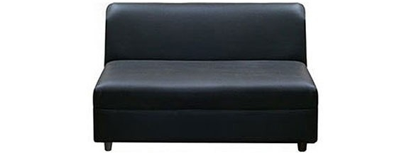 "Sofa | Industrial Canal | Small 42"" Armless Bench 