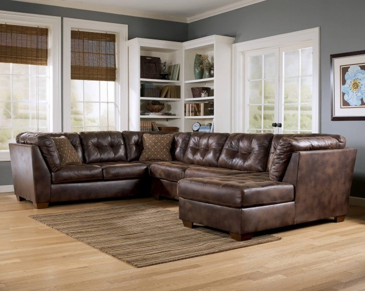 Sofa Leather Sectional Sofas Collection Of Brown Black Couch For Within Memphis Tn Sectional Sofas (View 6 of 10)