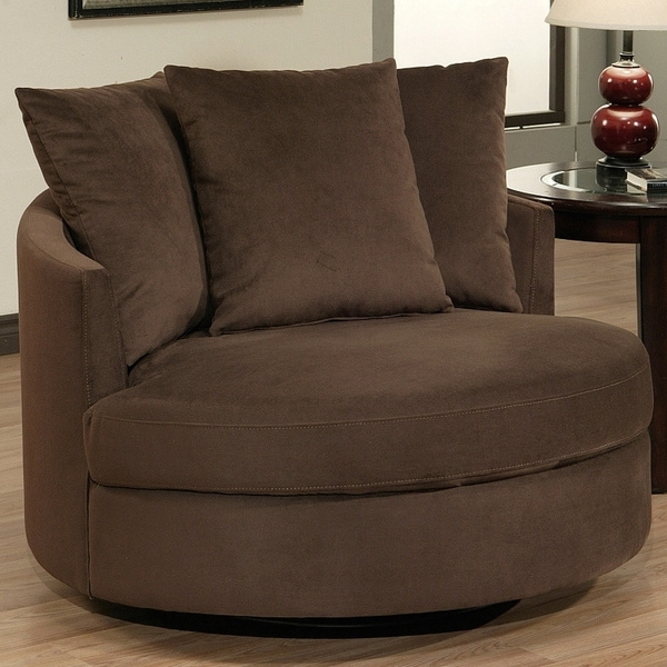 Sofa : Marvelous Round Swivel Sofa Chair Perfect 74 In Design Intended For Round Swivel Sofa Chairs (Image 10 of 10)