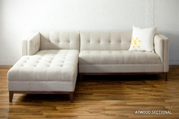 Sofa : Mesmerizing Tufted Sofa Sectional Sofas Tufted Sofa Sectional Intended For Tufted Sectional Sofas (Image 6 of 10)