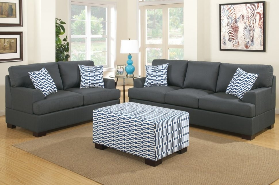 Sofa : Sleeper Sofa With Matching Reclining Loveseat White Loveseats Throughout Loveseats With Ottoman (Image 8 of 10)