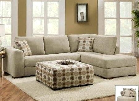 Sofa With 2 Chaise Shelter 2 Piece Terminal Chaise Sectional Within Sectional Sofas With 2 Chaises (Image 9 of 10)
