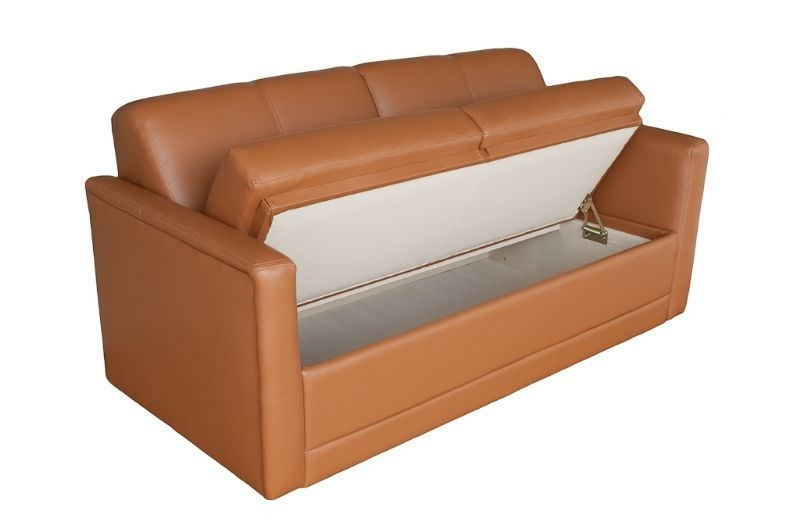 Sofa With Storage Yacht Sofa With Storage Compartment Companion 53 Pertaining To Storage Sofas (Image 5 of 10)