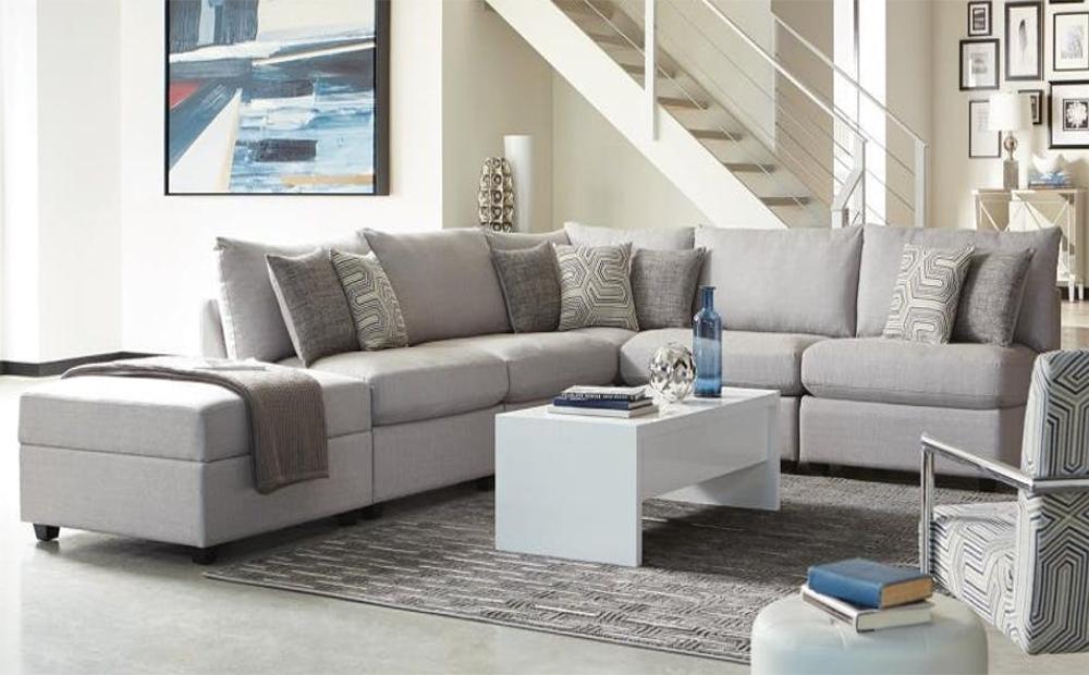 Sofas: Charlotte Modular Sectional Sofa With Charlotte Sectional Sofas (View 2 of 10)