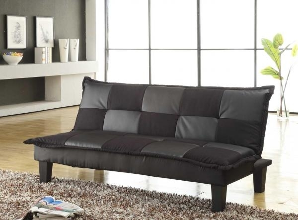 Sofas: Elan Black Sofa Bed, Baja Convert A Couch And Sofa Bed, Cheap Pertaining To Cheap Black Sofas (View 8 of 10)