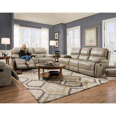 Sofas & Loveseats – Living Room Furniture – The Home Depot Pertaining To Sofas And Loveseats (Image 4 of 10)