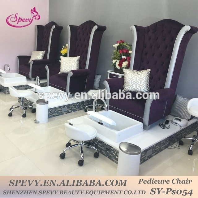 Source Factory Special Offer Modern Stella Pedicure Chair Of Nail Throughout Sofa Pedicure Chairs (Image 8 of 10)