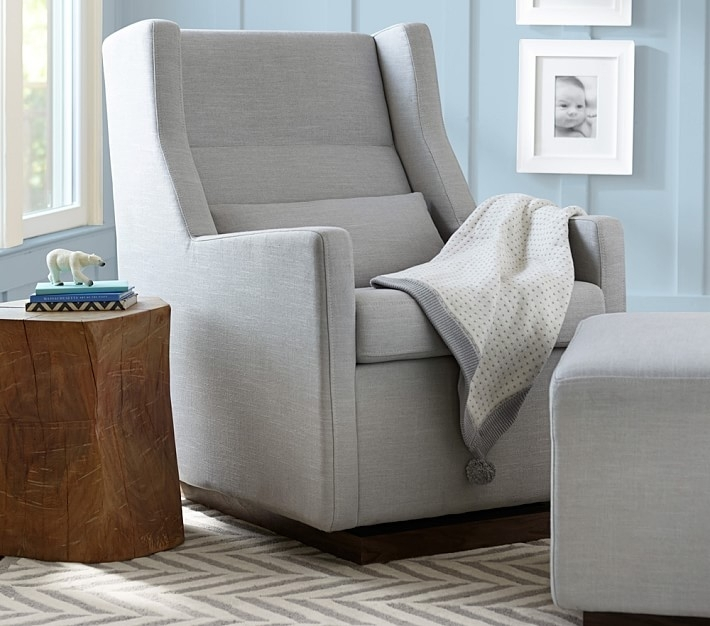 Sparrow Glider & Ottoman | Pottery Barn Kids With Regard To Gliders With Ottoman (Image 9 of 10)