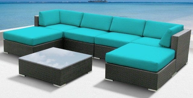 Splendid Outdoor Sectional Sofa Set With Jamaican Outdoor Wicker Within Jamaica Sectional Sofas (View 3 of 10)