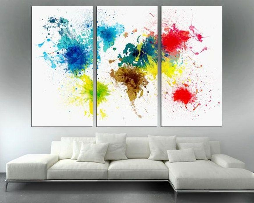 Split Canvas Wall Art Prints Groupon : Split Canvas Wall Art Intended For Groupon Canvas Wall Art (Image 19 of 20)