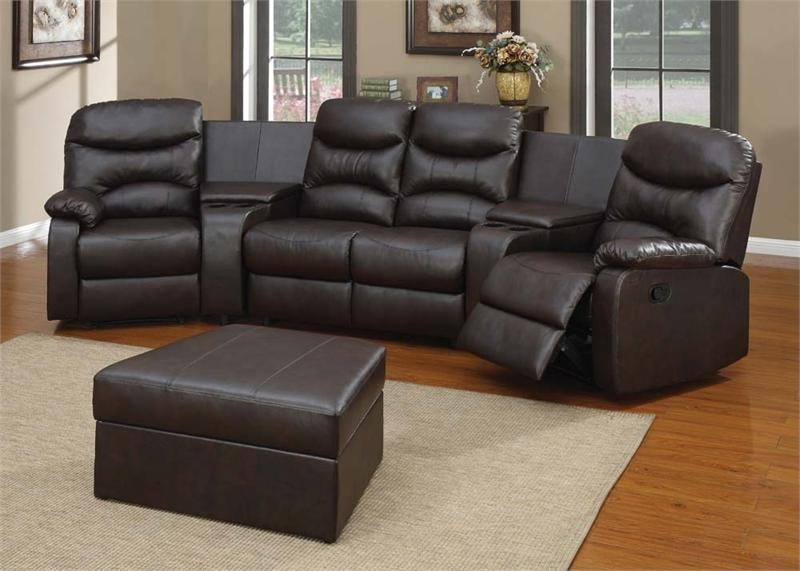 Spokane Home Theater Sectional Set Intended For Theatre Sectional Sofas (View 9 of 10)