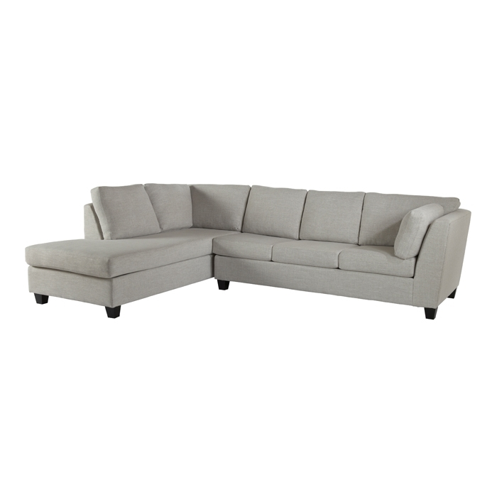 St Laurent Fabric Sectional – Sofa Beds – Living Room – Campagne Regarding Mobilia Sectional Sofas (Image 9 of 10)