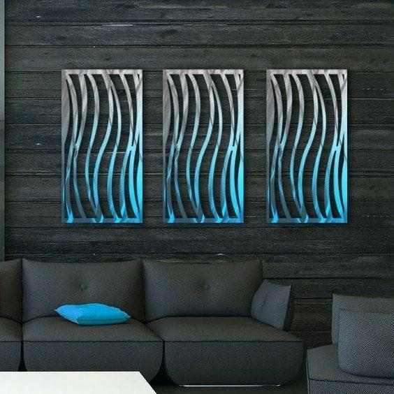 Stainless Steel Outdoor Wall Art Modern Abstract Stainless Steel Within Abstract Outdoor Wall Art (View 13 of 20)
