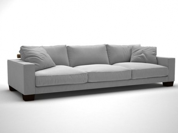 Status Sofa 3D Modell | Flexform With Flexform Sofas (Image 10 of 10)