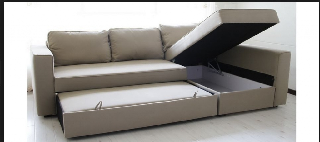 Storage Bed: Månstad Corner Sofa Bed With Storage Ikea Manstad Intended For Ikea Sectional Sofa Beds (Image 10 of 10)