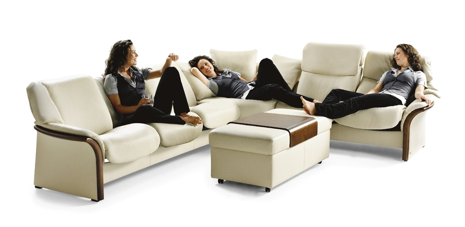 Stressless El Dorado Sectional (High Back) With El Dorado Sectional Sofas (Image 8 of 10)