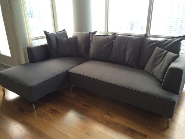 Structube Kennedy Sectional Sofa For Sale Downtown Toronto, Toronto With Structube Sectional Sofas (Image 10 of 10)