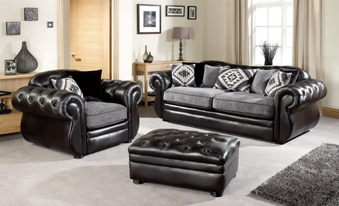 Featured Image of Leather And Cloth Sofas
