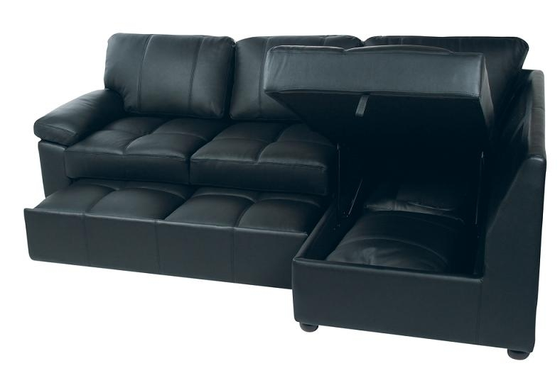 Stunning Leather Sofa Bed With Storage Sofa Sofa Bed Storage Sofas For Leather Sofas With Storage (Image 8 of 10)