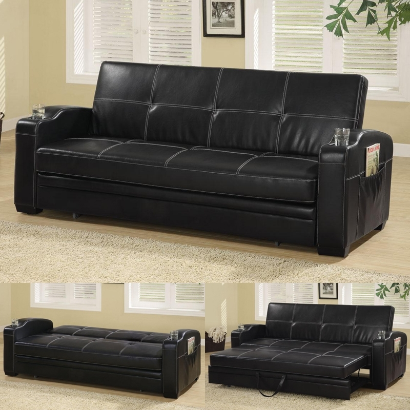 Stunning Leather Sofa Bed With Storage Sofa Sofa Bed Storage Sofas In Leather Sofas With Storage (Image 9 of 10)