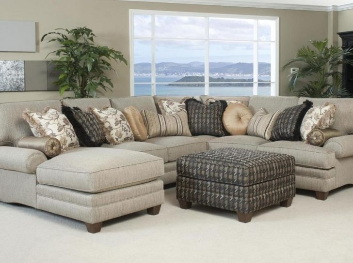 Stylish Abbyson Living Charlotte Dark Brown Sectional Sofa And With Regard To Charlotte Sectional Sofas (View 3 of 10)
