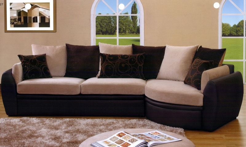 Suede Sectional Sofas | Bonners Furniture Throughout Leather And Suede Sectional Sofas (Image 9 of 10)