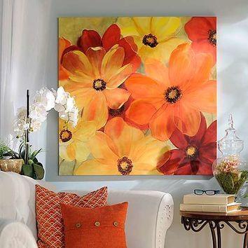 Sunshine Splash Canvas Art Print | From Kirklands | Epic For Kirklands Canvas Wall Art (Image 15 of 20)