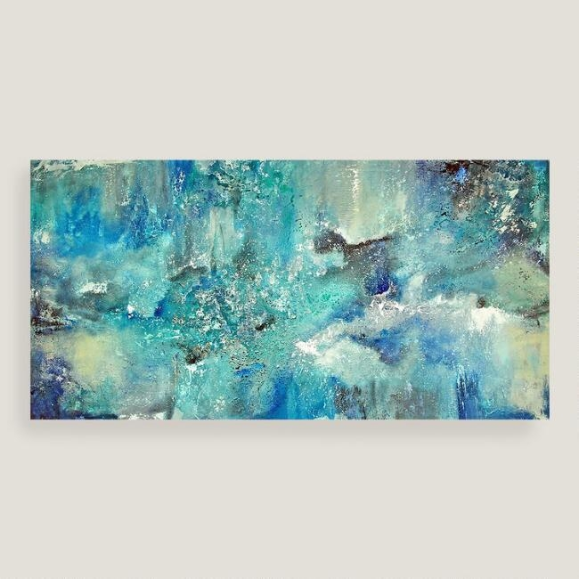 Superb Blue Canvas Wall Art With Designs Duck Egg And White Inside Duck Egg Canvas Wall Art (Image 15 of 20)