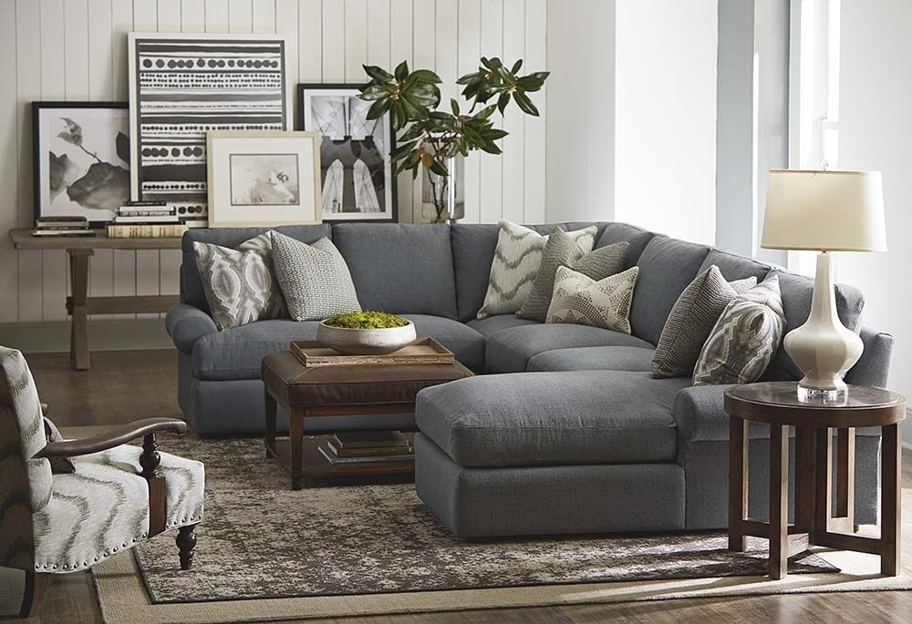 Sutton U Shaped Sectional | Casual Styles, Shapes And Living Rooms Inside Sectional Sofas At Bassett (View 10 of 10)