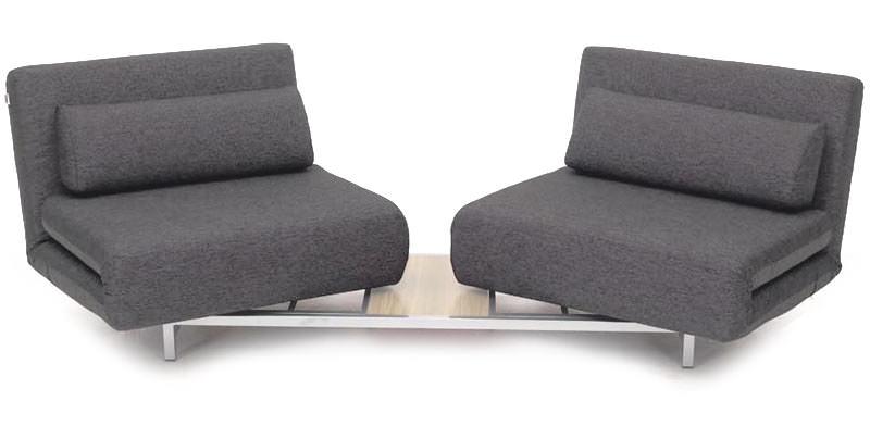 Swivel Convertible Sofa Bed Lk06 2Ido With Regard To Convertible Sofas (Image 9 of 10)