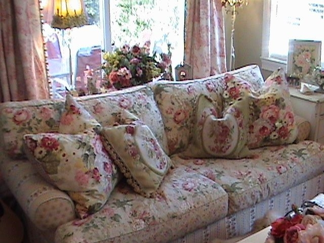Talk About Chintz Something Very Comfortable And Cozy About This Inside Chintz Covered Sofas (Image 9 of 10)