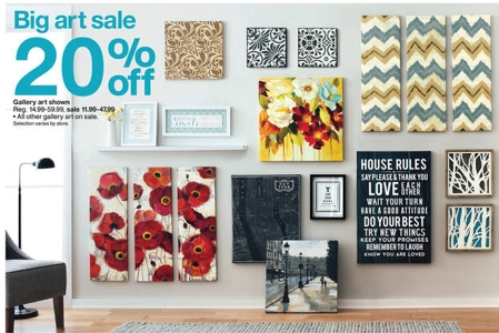Target: Wall Art 20% Off + 15% Off With Cartwheel | All Things Target Throughout Canvas Wall Art At Target (View 5 of 20)