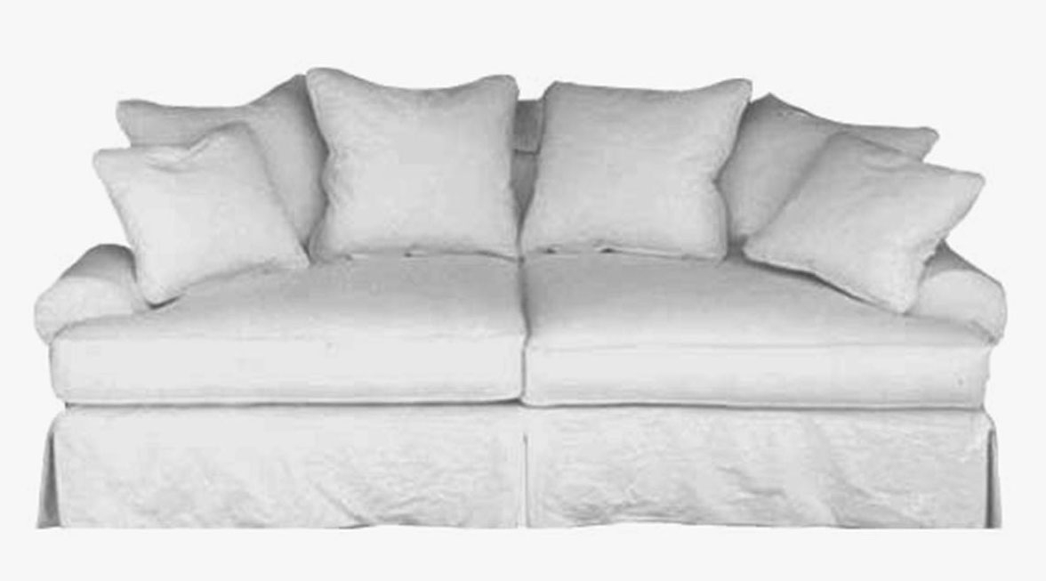 Taylor Scott Collection Slipcovered Upholstered Sofas Contemporary In Down Filled Sofas (Image 9 of 10)