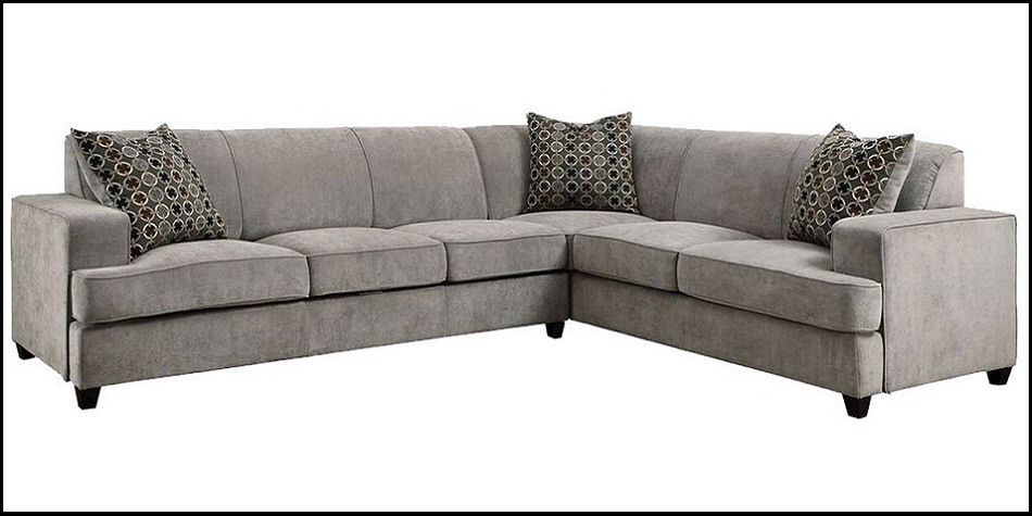 Tess 3 Pc Sleeper Sectional Jennifer Furniture 2018 / 2019 | Sofamoe With Regard To Jennifer Convertibles Sectional Sofas (Image 10 of 10)