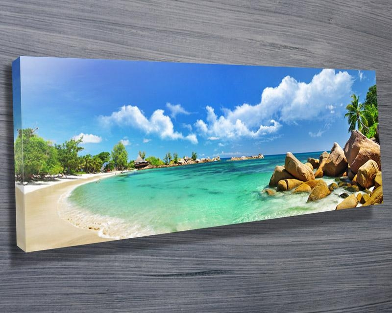 Thailand Paradise Beach – Canvas Prints Australia Pertaining To Canvas Wall Art In Australia (Image 18 of 20)