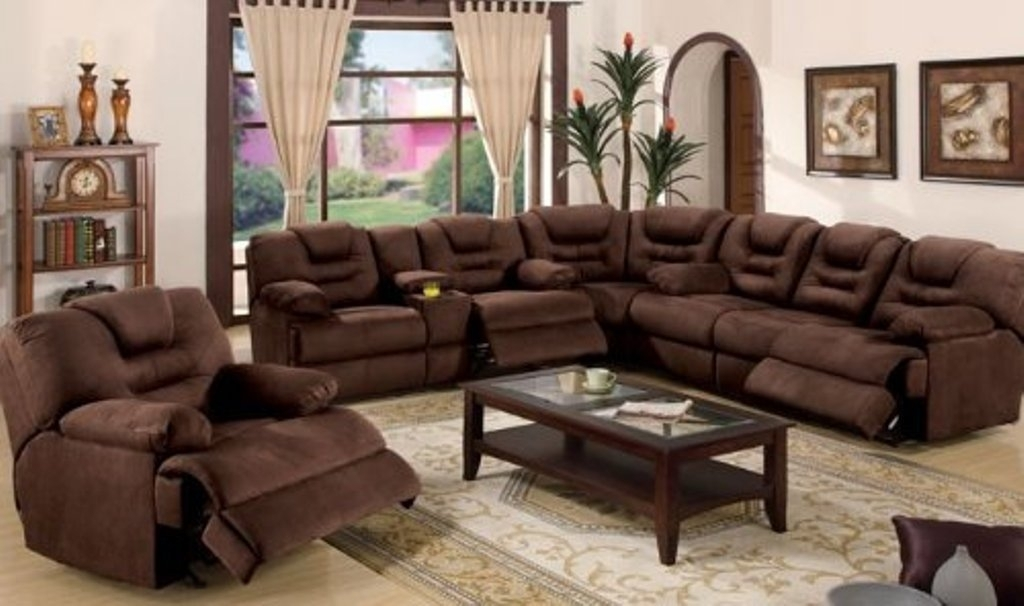 The Benefits Of Large Sectional Sofas – Elites Home Decor In Sectional Sofas With Recliners (Image 9 of 10)