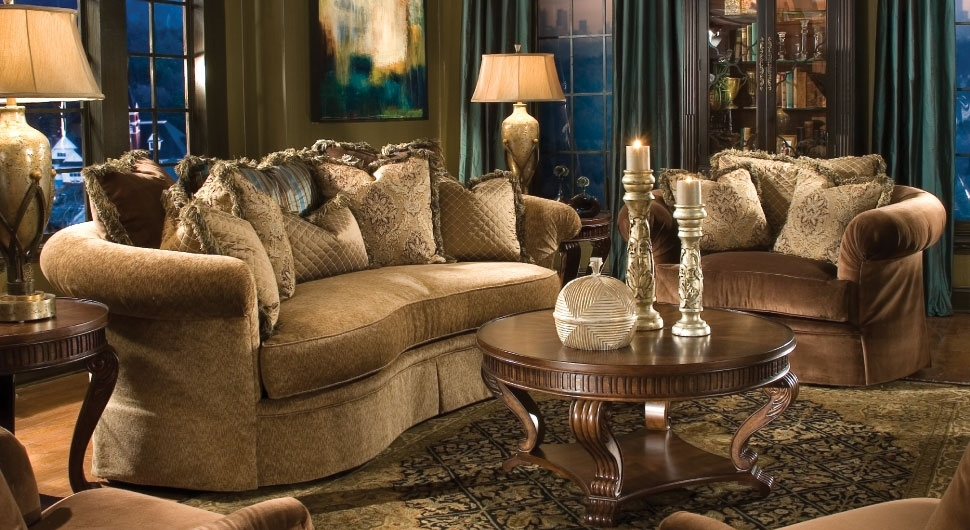 The Best Of Elegant Living Rooms Furniture 2186 Home And Garden Inside Elegant Sofas And Chairs (Image 9 of 10)