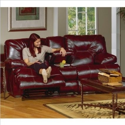 The Best Reclining Sofa Reviews: Red Leather Reclining Sofa And Loveseat Intended For Red Leather Reclining Sofas And Loveseats (View 7 of 10)